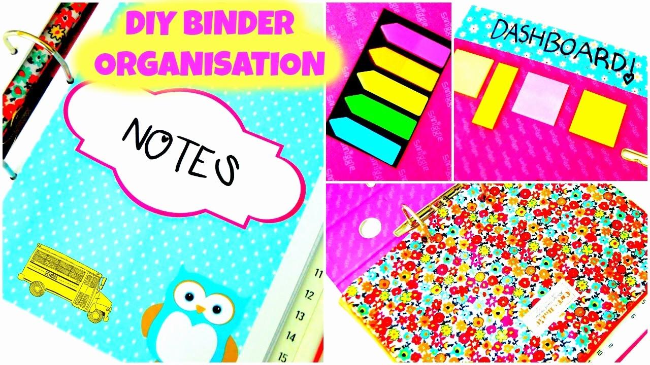 How to Create A Binder New Diy organization Binder