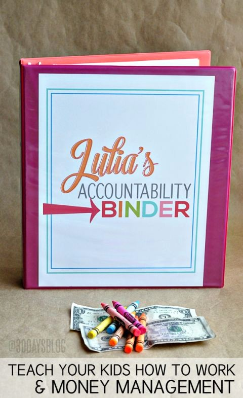 How to Create A Binder New School Binder with Printables
