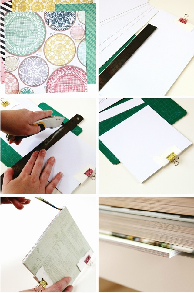 How to Create A Binder Unique Diy Notebook Perfect Binding