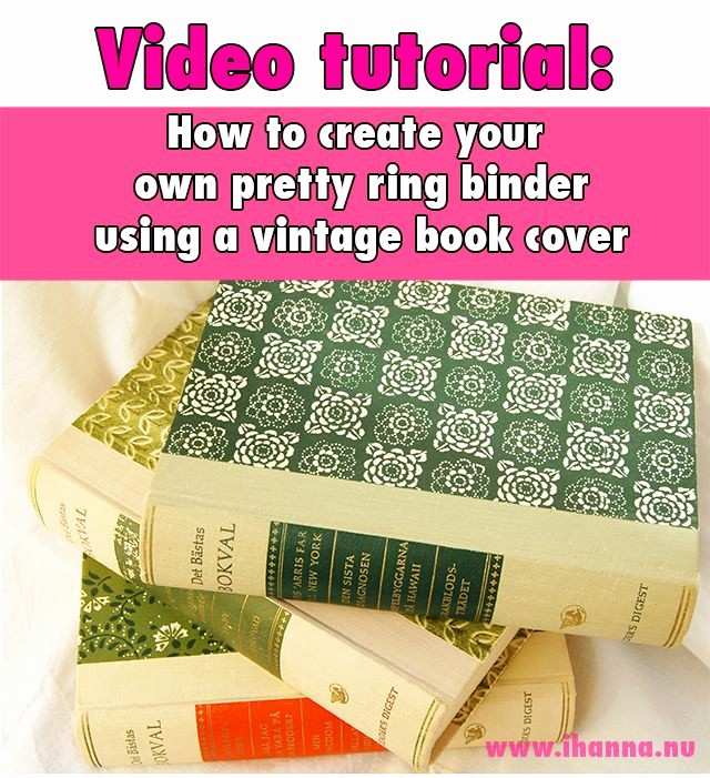How to Create A Binder Unique Video Tutoria by Ihanna How to Create Your Own Ring