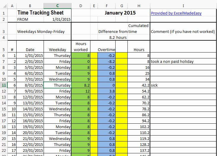 How to Create A Tracker Awesome Excel Template Time Tracking Sheets Template Free by
