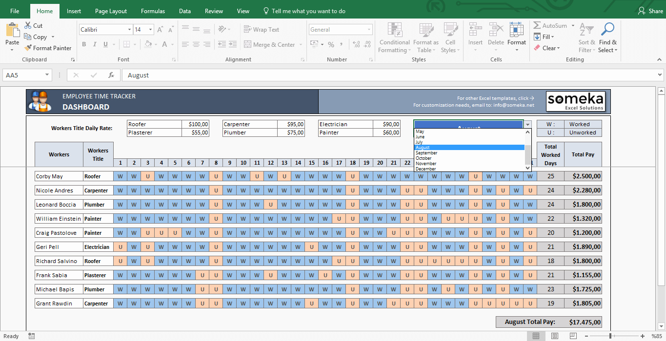 How to Create A Tracker Inspirational Payroll Template Excel Timesheet Free Download