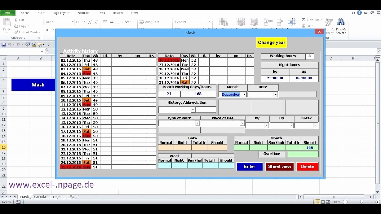 How to Create A Tracker New 4 Create Time Tracking Application In Excel Itself Create