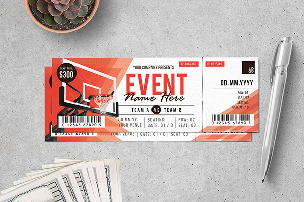 How to Create event Tickets Awesome Creative event Ticket Design
