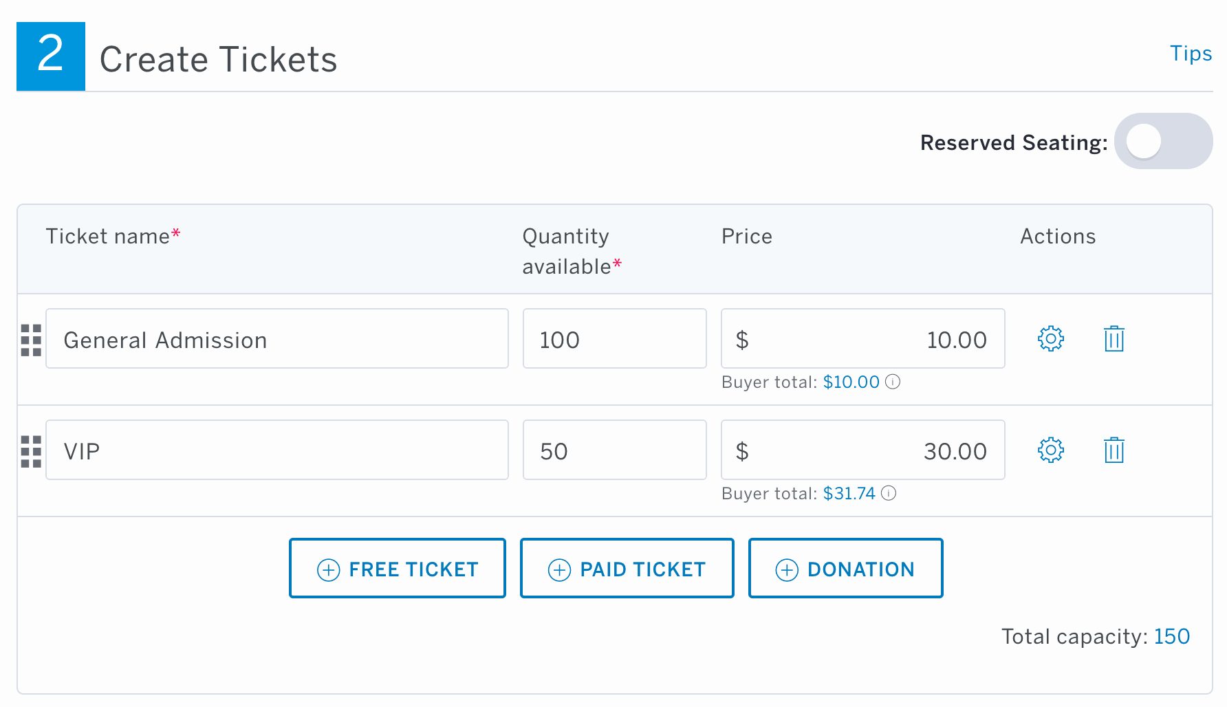 How to Create event Tickets Fresh How to Set Up Group Discount Ticket Types