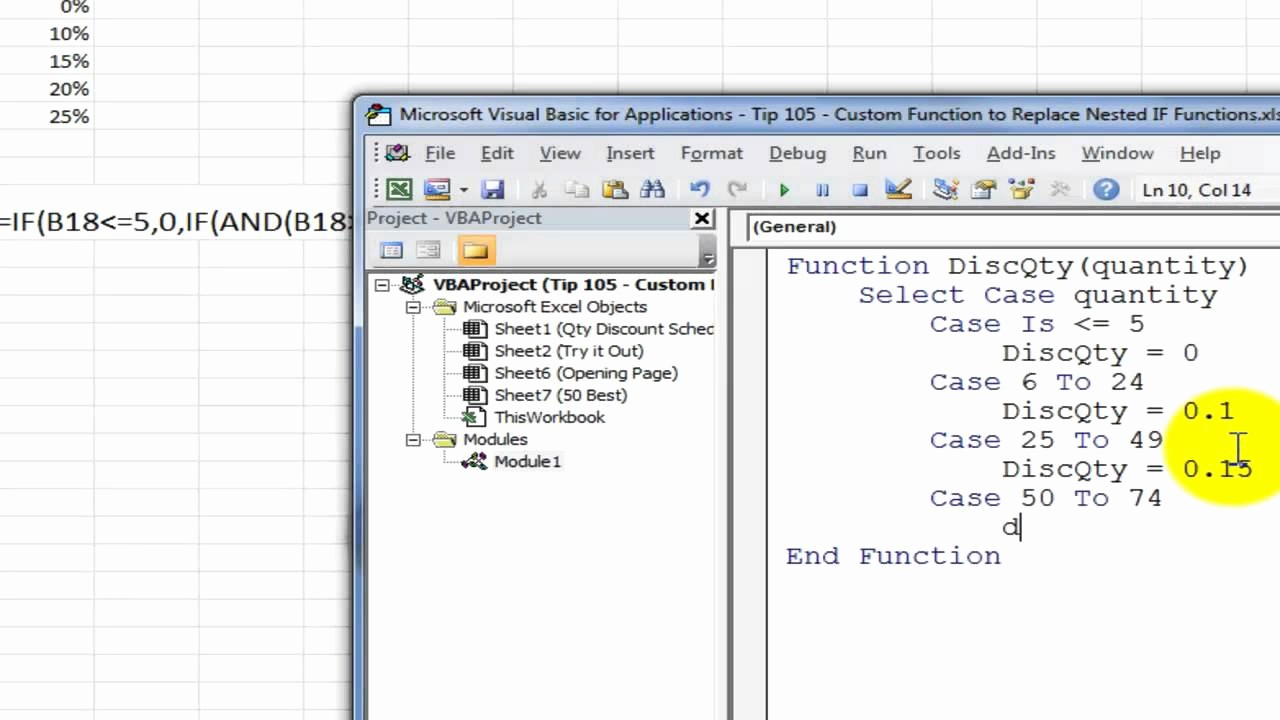 How to Create Excel formulas Lovely Create A Custom Excel Function to Replace Nested if