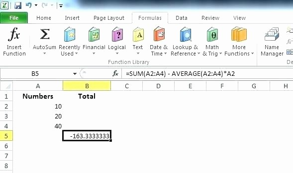 How to Create Excel formulas New Subtraction formula In Excel 2010 Excel Math formulas