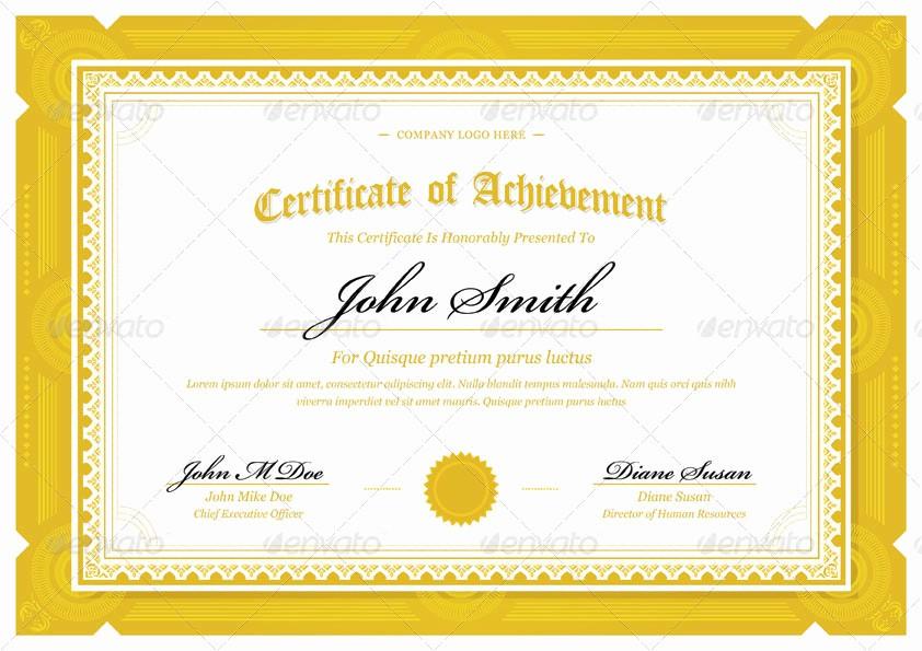 How to Design A Certificate Elegant Modern Classy Diploma Award Certificate by Bnrcreativelab