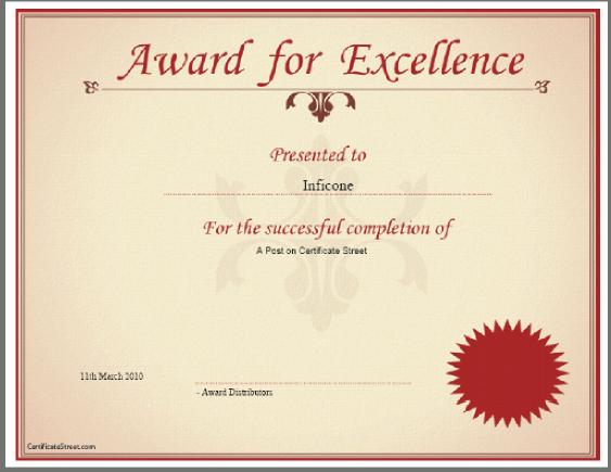 free certificate design templates