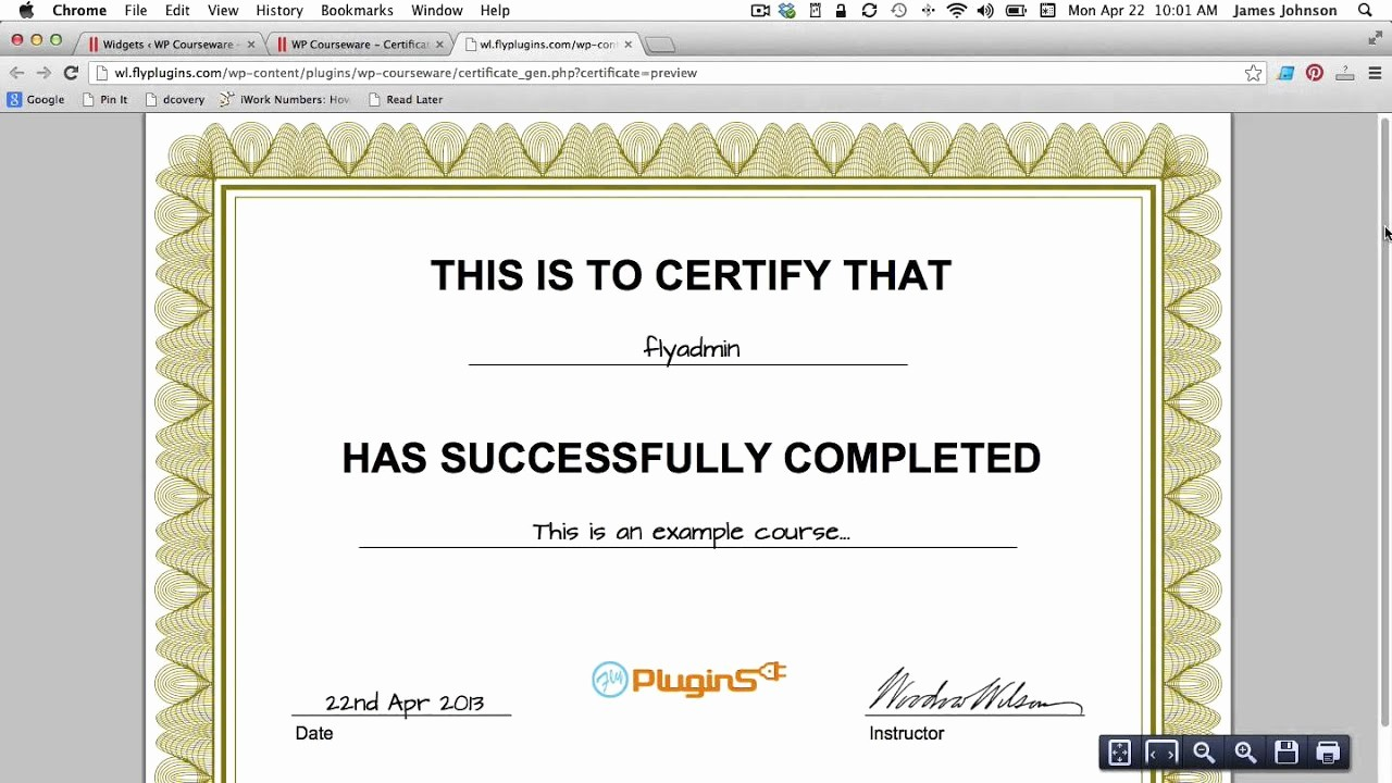 How to Design A Certificate Lovely How to Generate A Pdf Certificate Of Pletion for Your