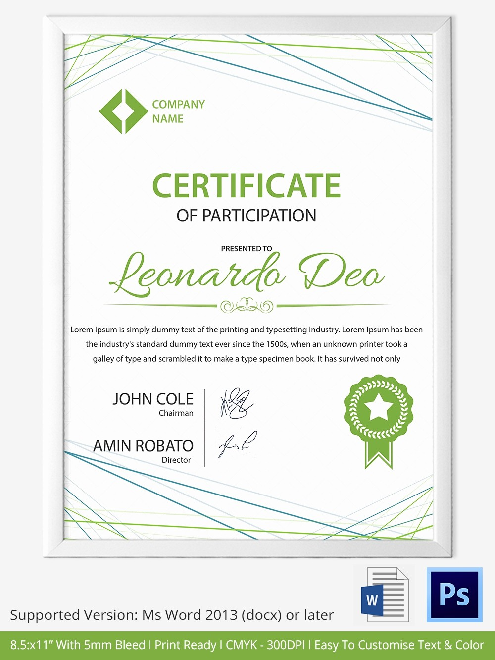 How to Design A Certificate New 33 Psd Certificate Templates – Free Psd format Download