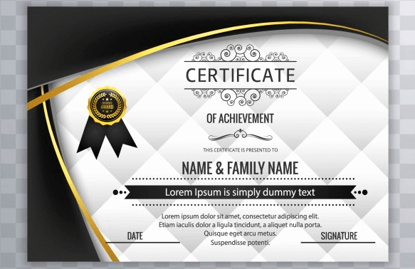 How to Design A Certificate New 50 Multipurpose Certificate Templates and Award Designs