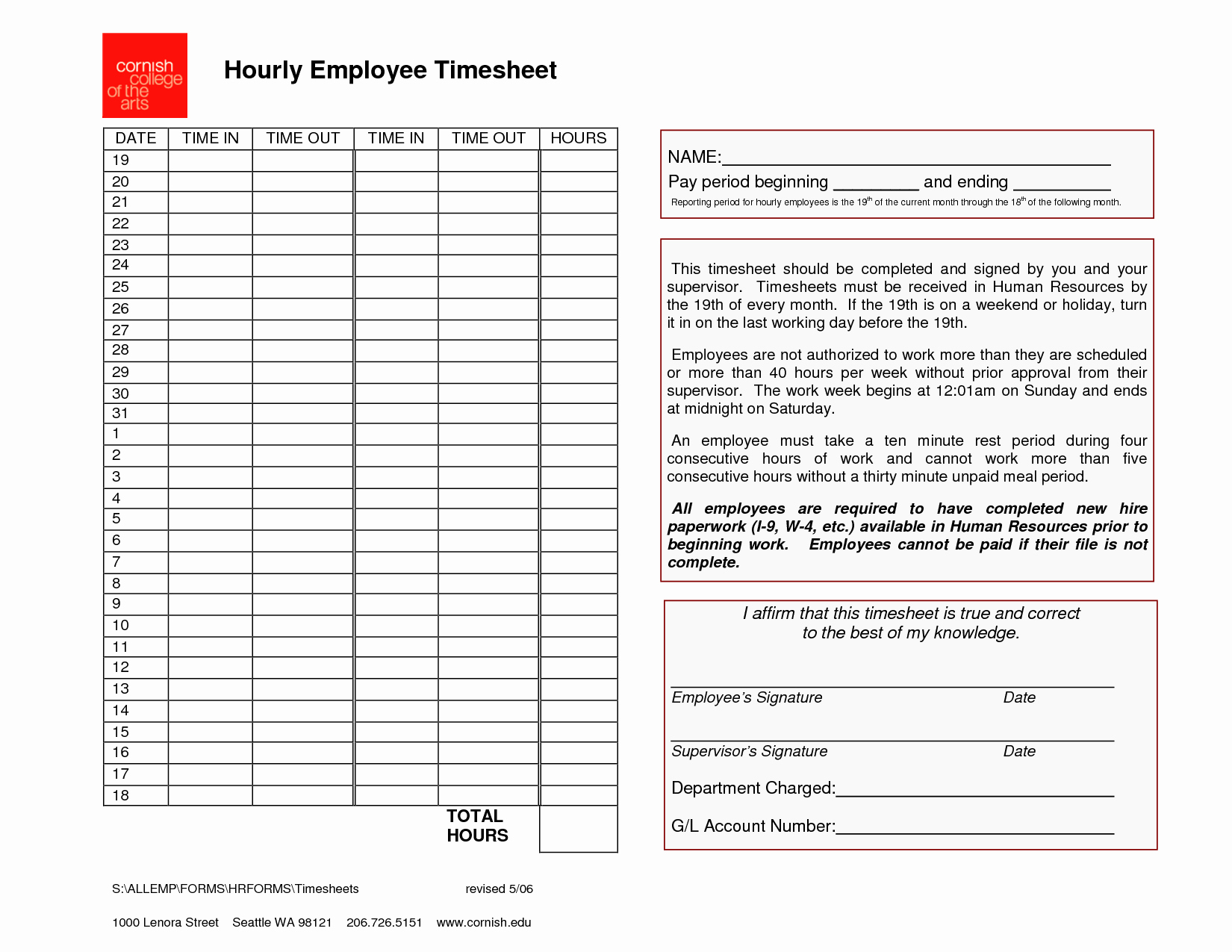 How to Do A Timesheet Awesome Employee Timesheet Template