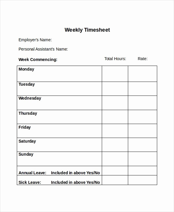 How to Do A Timesheet Elegant 30 Timesheet Templates Free Sample Example format