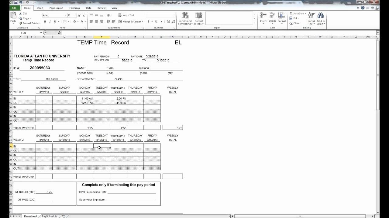 How to Do A Timesheet Inspirational How to Fill Out A Timesheet
