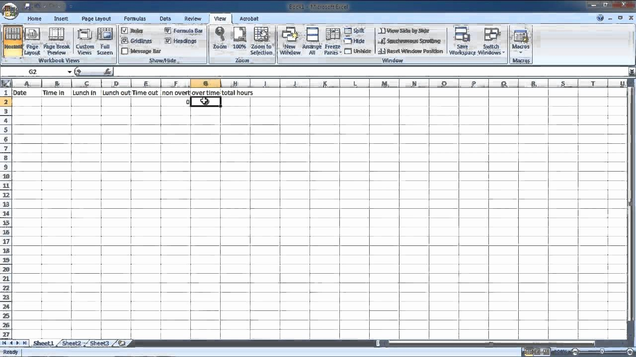 How to Do A Timesheet Lovely How to Make Hourly Work Time Sheet