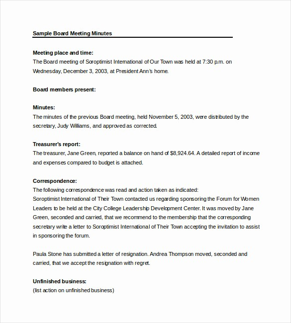 How to Document Meeting Minutes Beautiful Meeting Notes Template 28 Free Word Pdf Documents