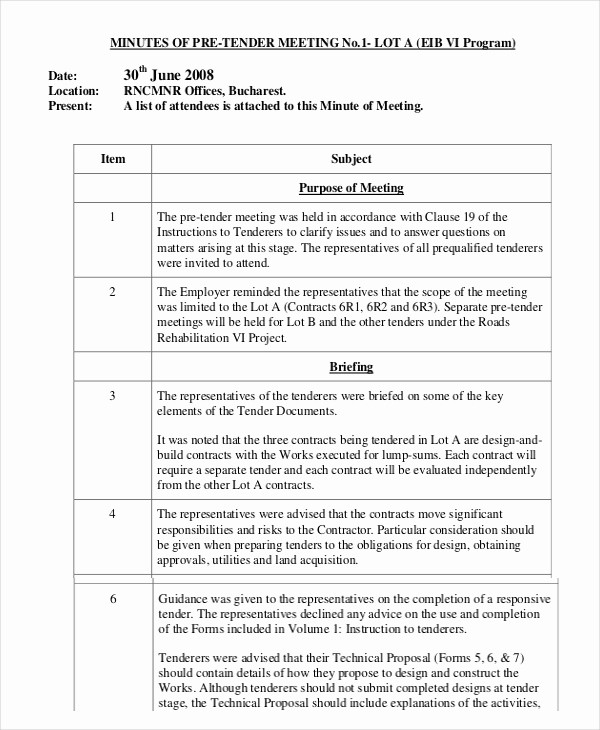 How to Document Meeting Minutes Unique Minutes Writing Template – 10 Free Word Pdf Documents