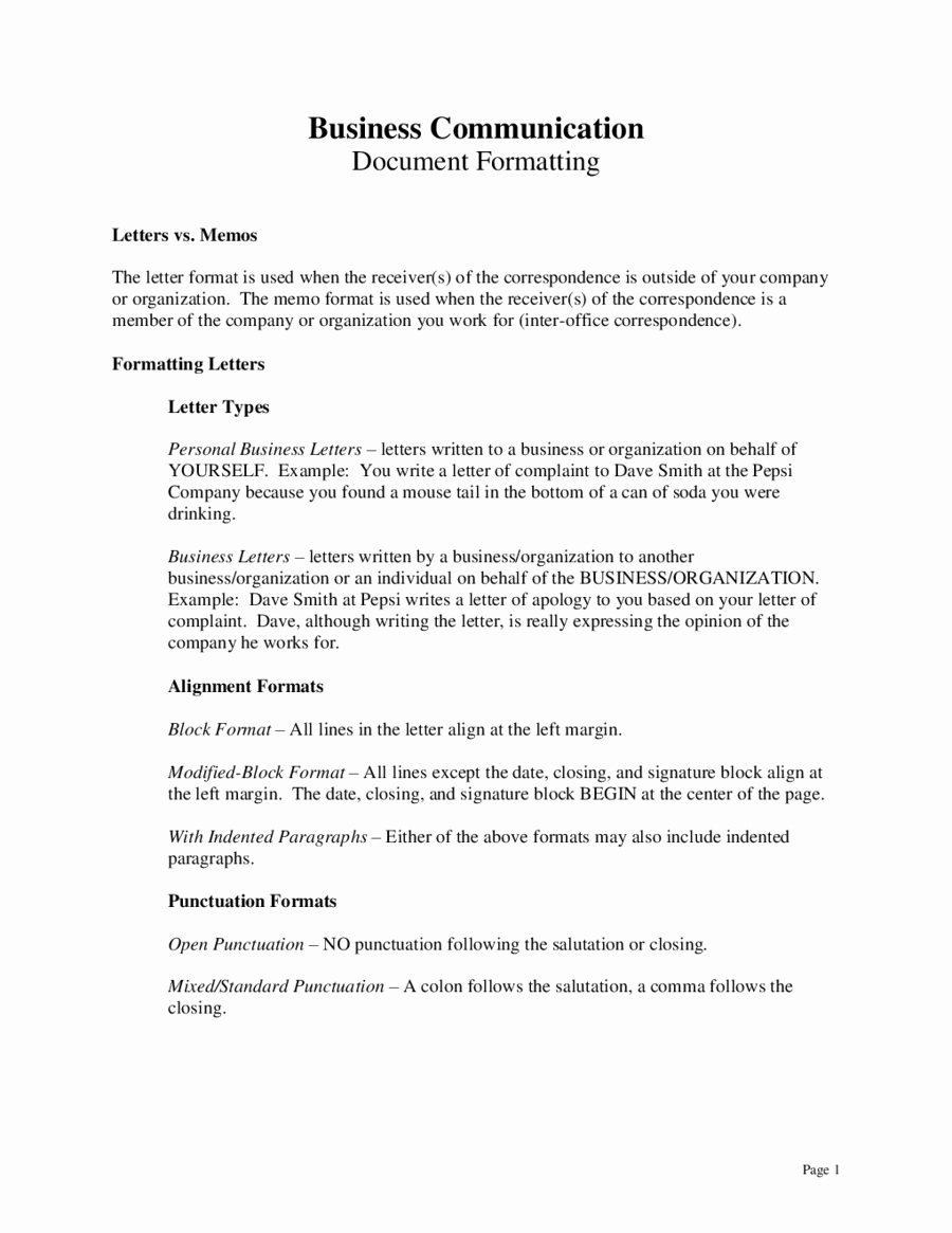 How to Draft A Memo Awesome Business Plaint Letter format Mughals