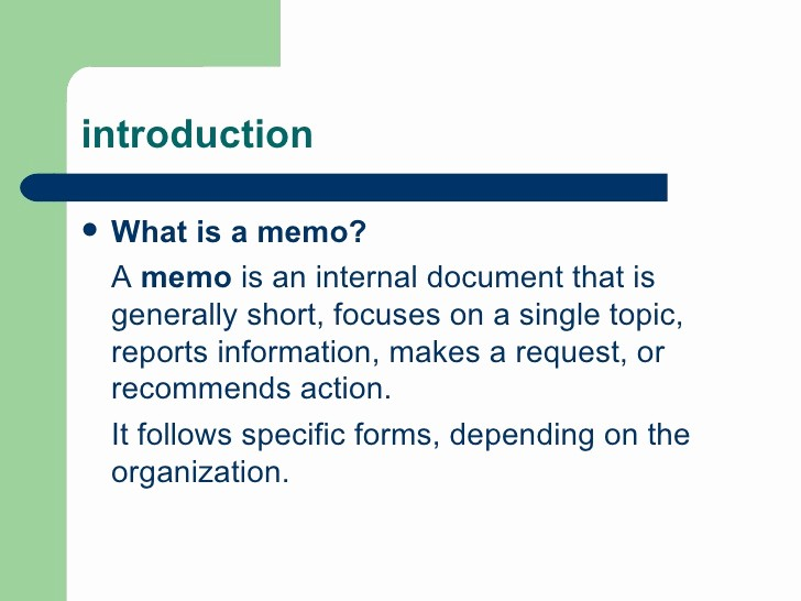 How to Draft A Memo Awesome How to Write A Memo
