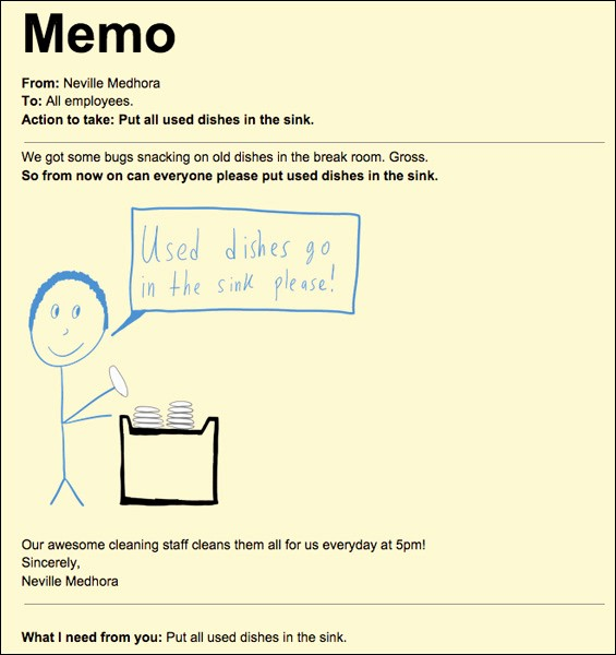 How to Draft A Memo Best Of How to Write An Effective Memo