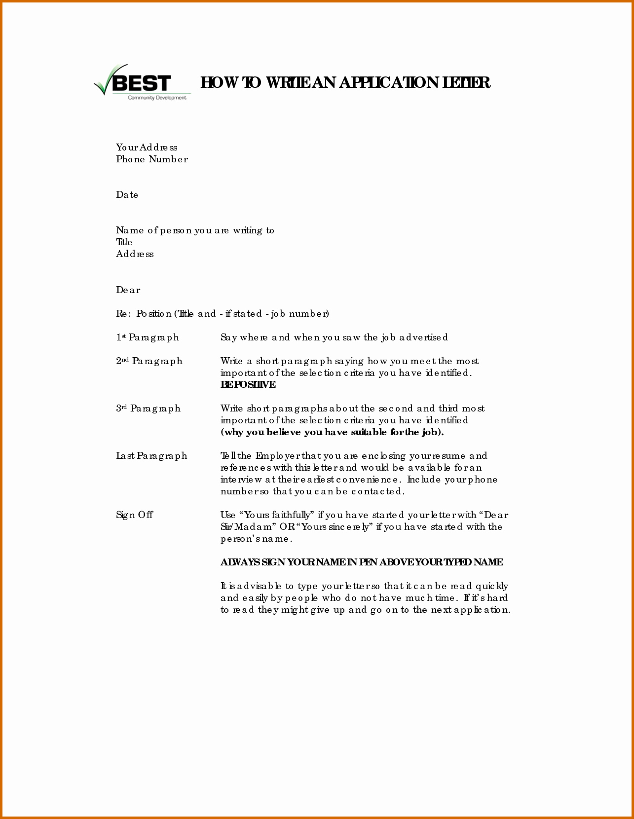 How to Draft A Memo Elegant 11 How to Write Applications Letters