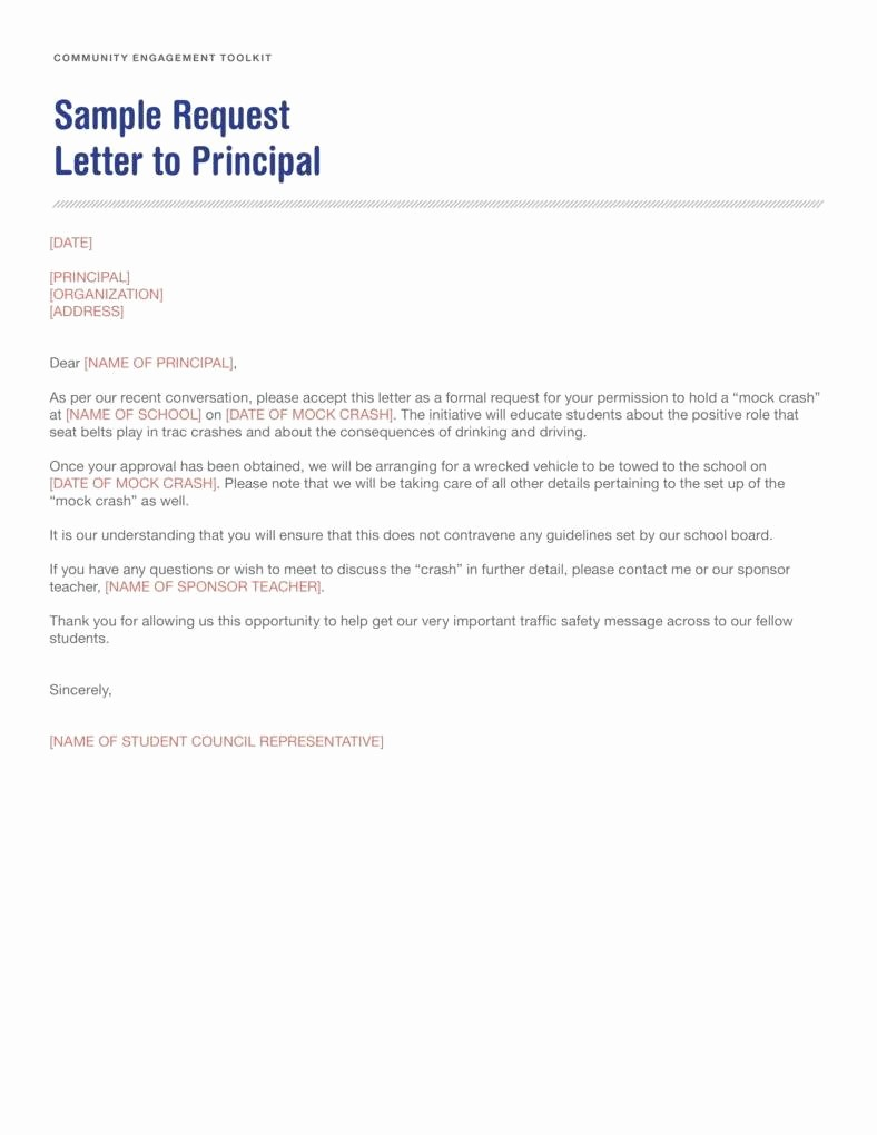How to Draft A Memo New How to Write A Letter to A Principal How to Write Letter
