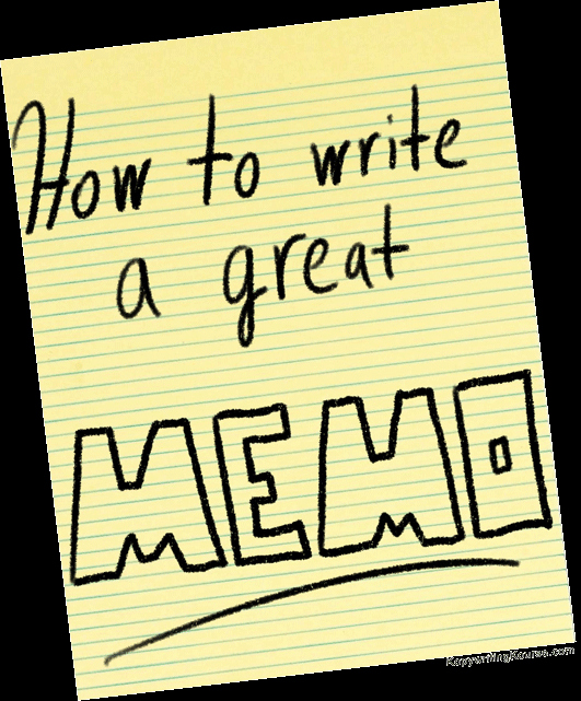 How to Draft A Memo Unique How to Write An Effective Memo