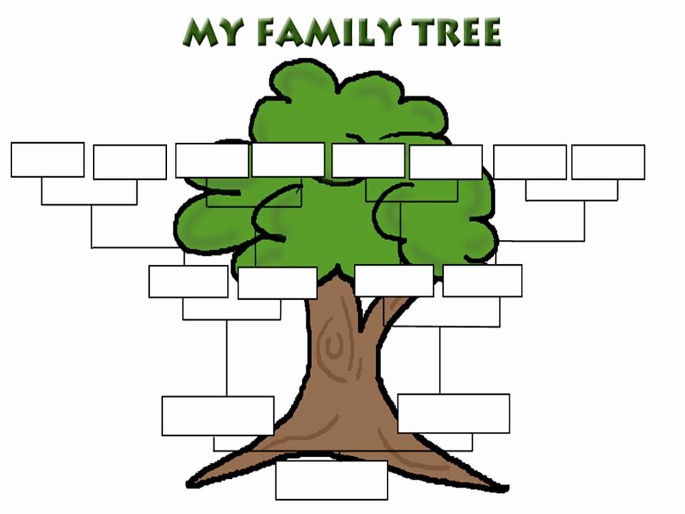 How to Family Tree Chart Beautiful Family Tree Template Family Tree Templates
