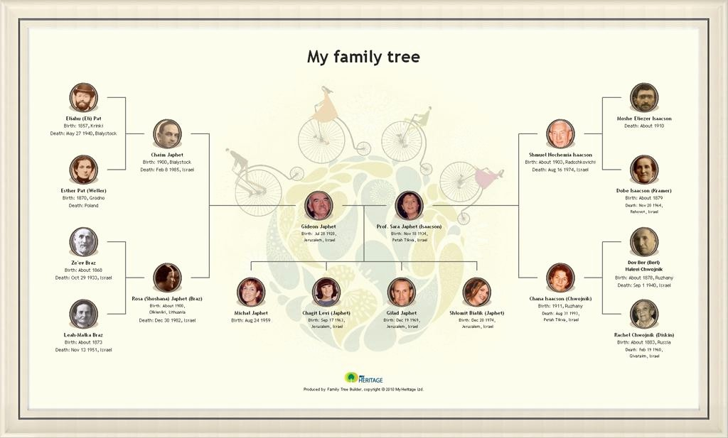 How to Family Tree Chart New Create A Beautiful Family Tree Chart Line & Print It as