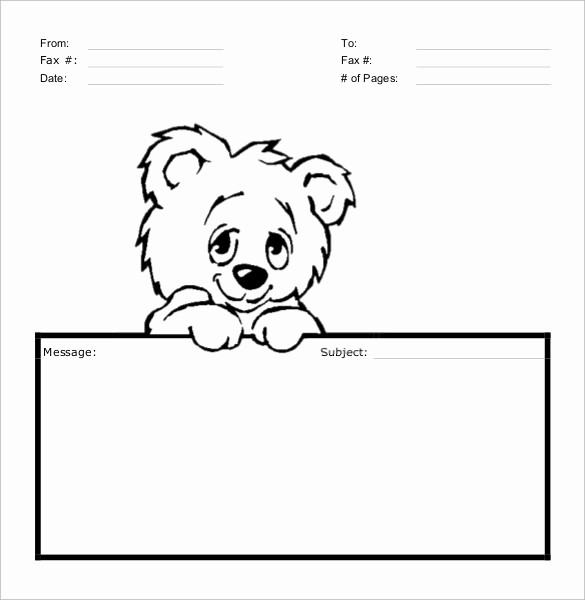 How to Fax Cover Sheet Elegant 8 Sample Cute Fax Cover Sheets