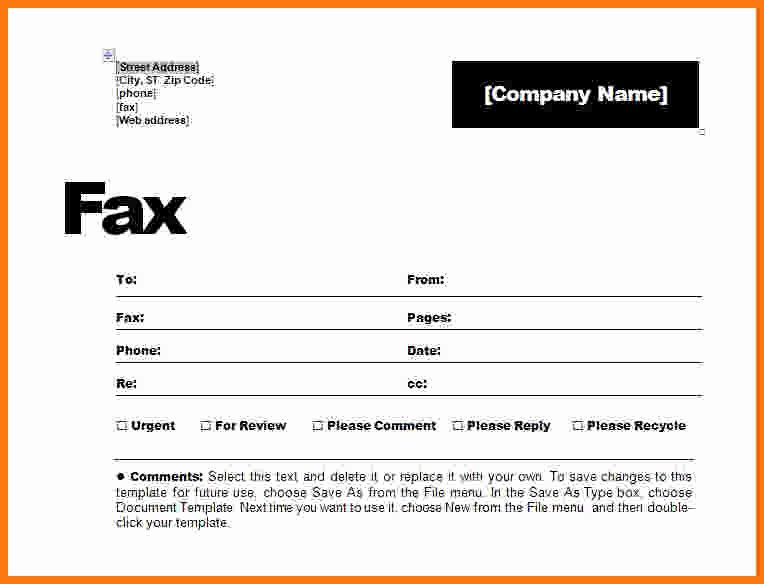 How to Fax Cover Sheet Lovely 15 How to Make Fax Cover Sheet