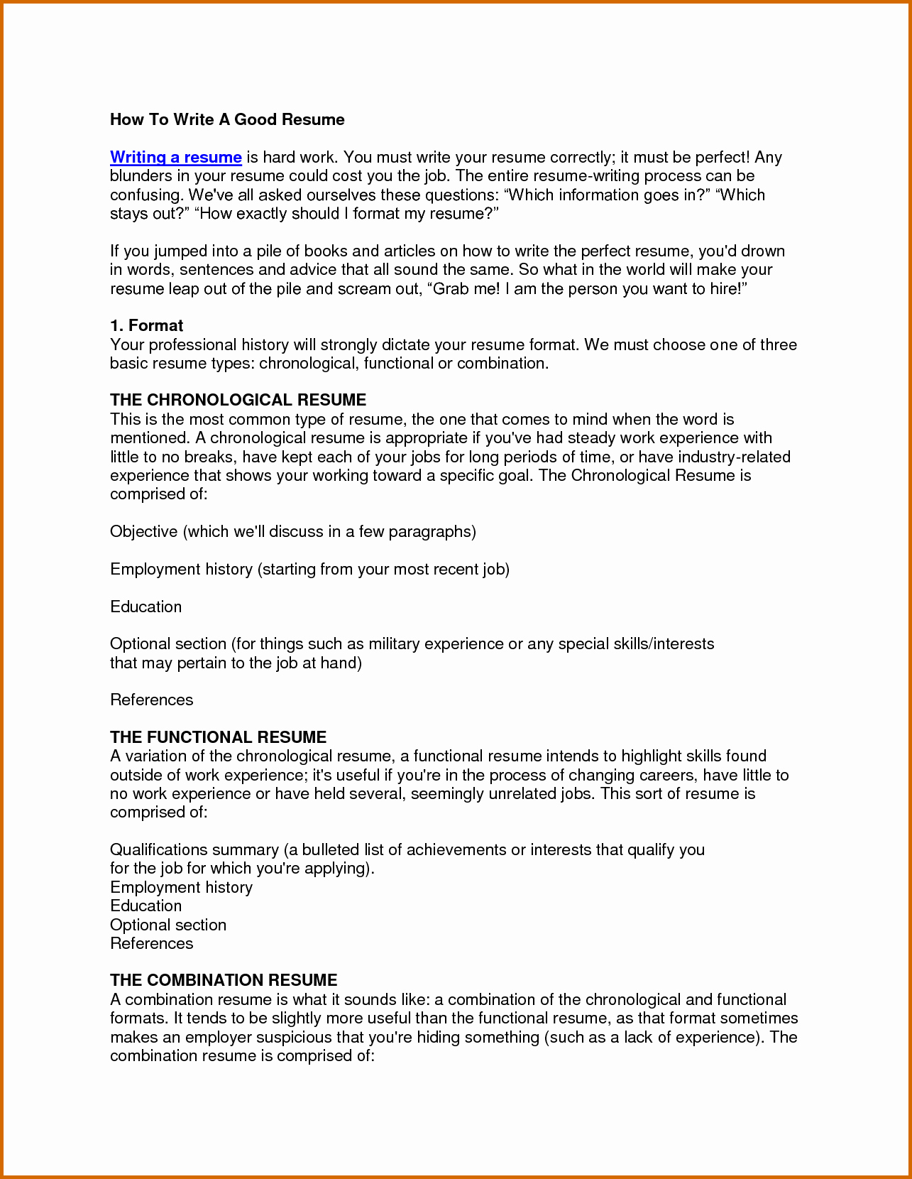 How to form A Resume Best Of 10 How to Write Cosmetology Resume