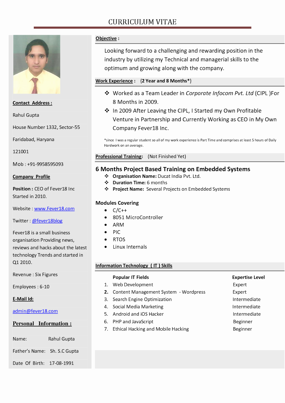 How to form A Resume Best Of Create A Resume Resume Cv