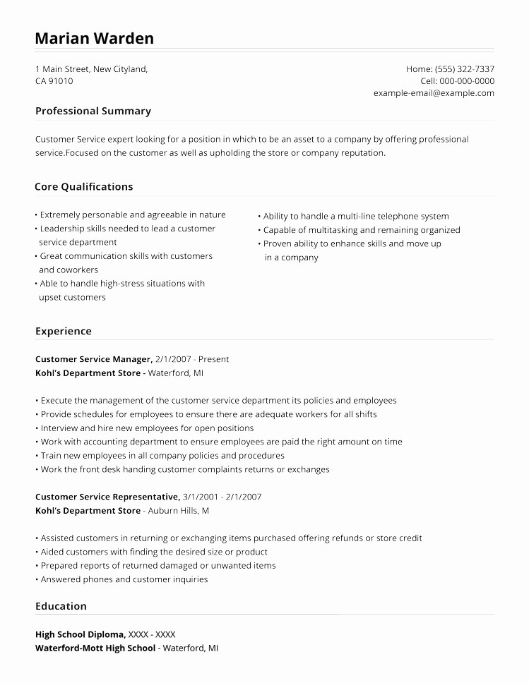 How to form A Resume Fresh 99 Free Professional Resume formats & Designs
