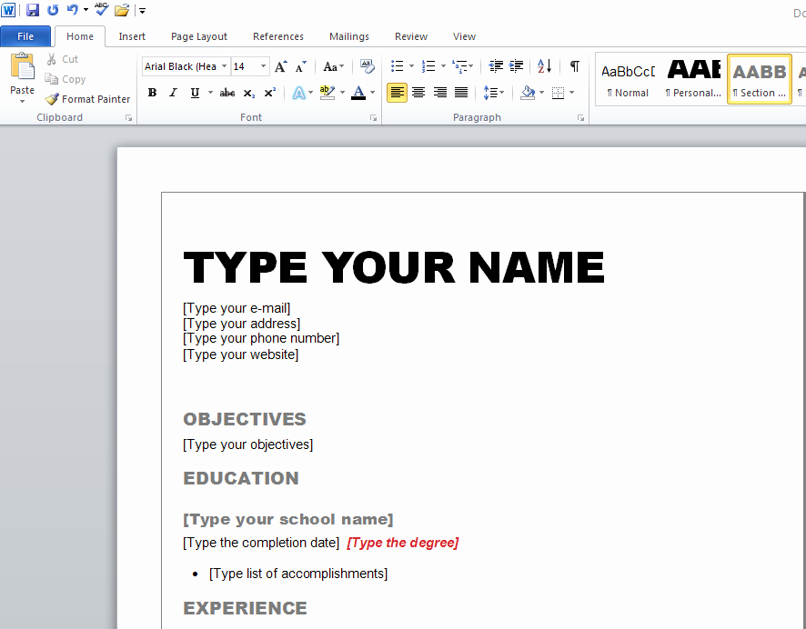 How to form A Resume Fresh How to Create A Resume Resume Cv