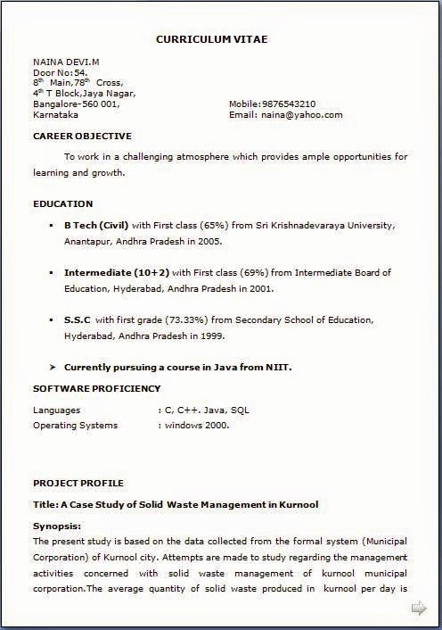 How to form A Resume Lovely How to Make Resume for Job Application