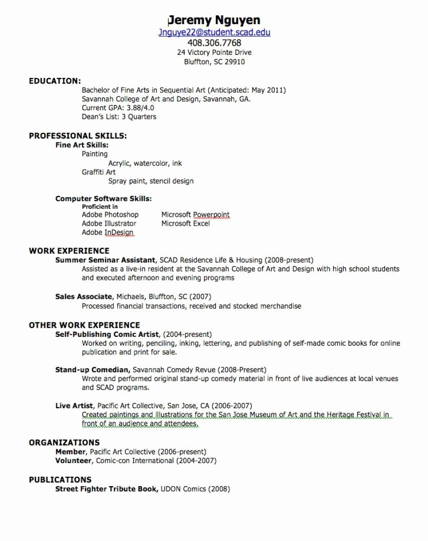 How to form A Resume Unique How to Make A Resume