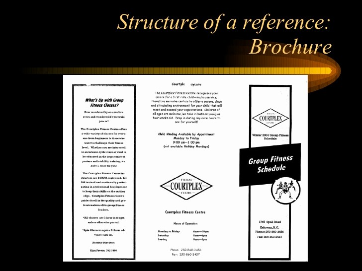 How to format A Brochure Awesome Apa format Examples