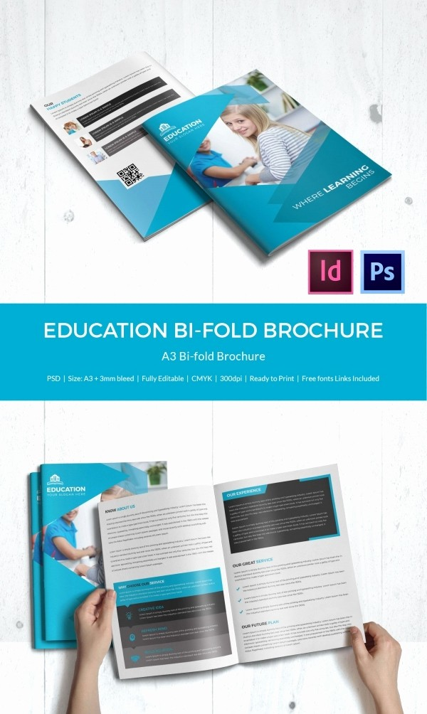 How to format A Brochure Awesome Education Brochure Template 43 Free Psd Eps Indesign