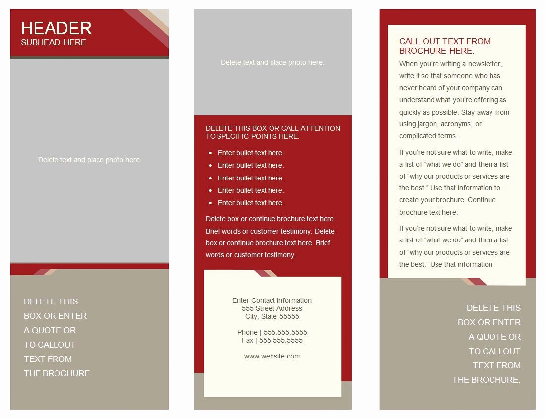 How to format A Brochure Best Of Blank Pamphlet Template Mughals