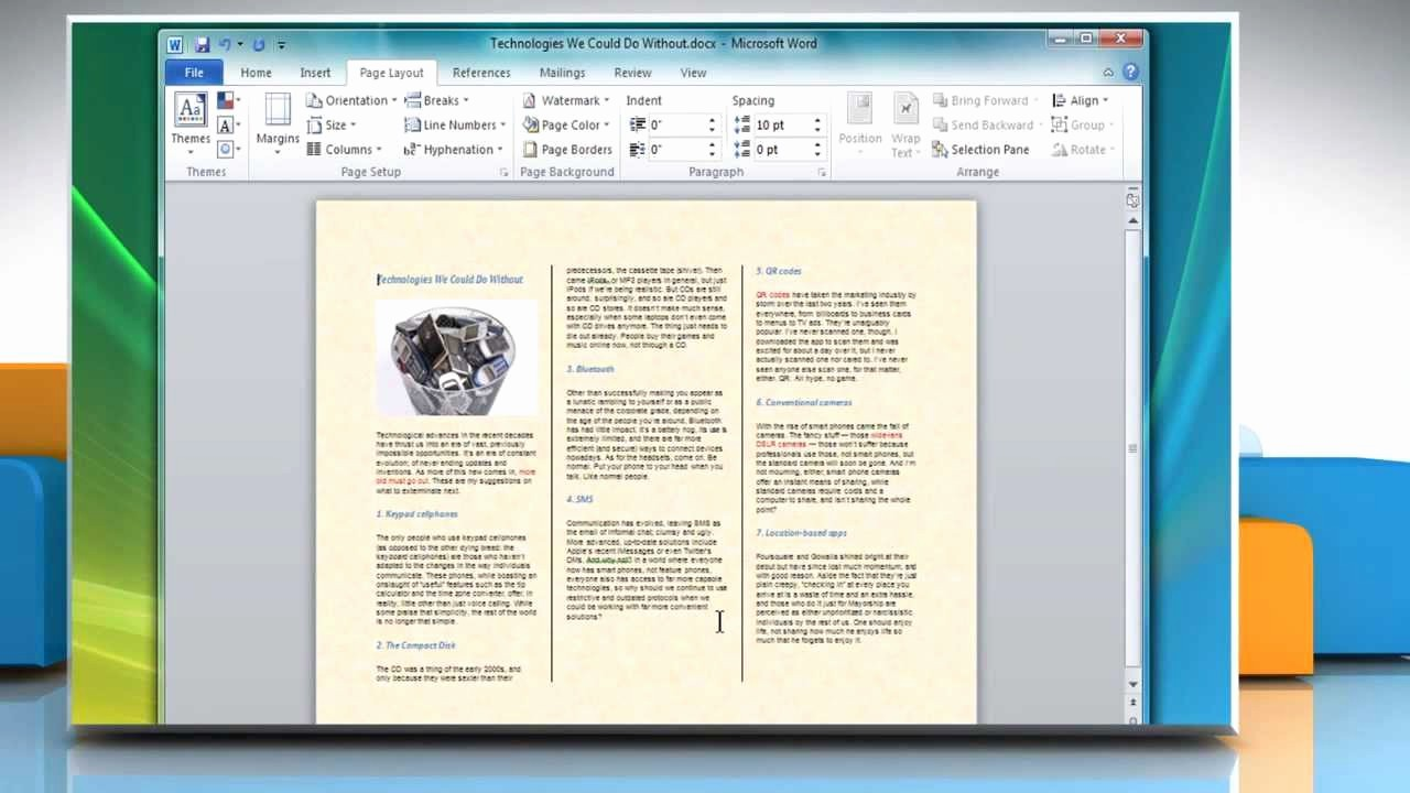 How to format A Brochure Fresh How to Make A Tri Fold Brochure In Microsoft Word 2007