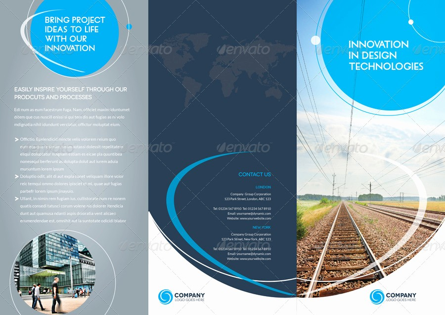 How to format A Brochure Fresh Trifold Brochure Template 01 Indesign Layout by