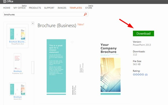 How to format A Brochure Inspirational Simple Brochure Templates for Powerpoint