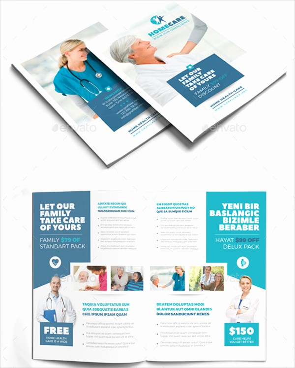 How to format A Brochure Lovely Home Health Care Brochure Exclusiveinternetdirectory