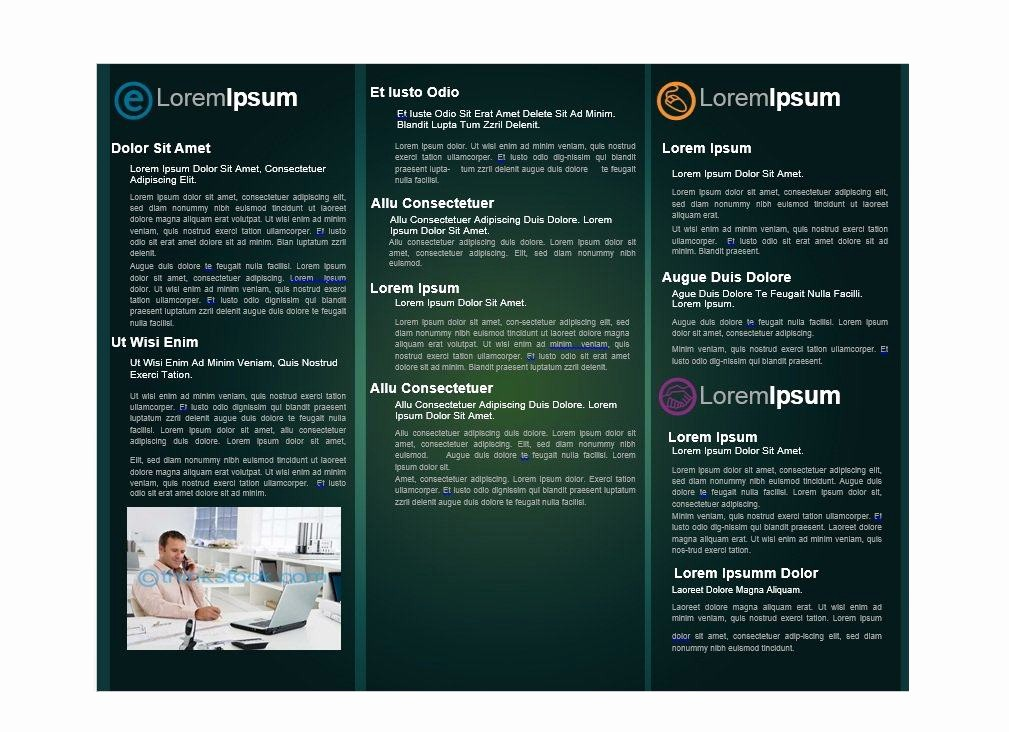 How to format A Brochure New 31 Free Brochure Templates Ms Word and Pdf Free