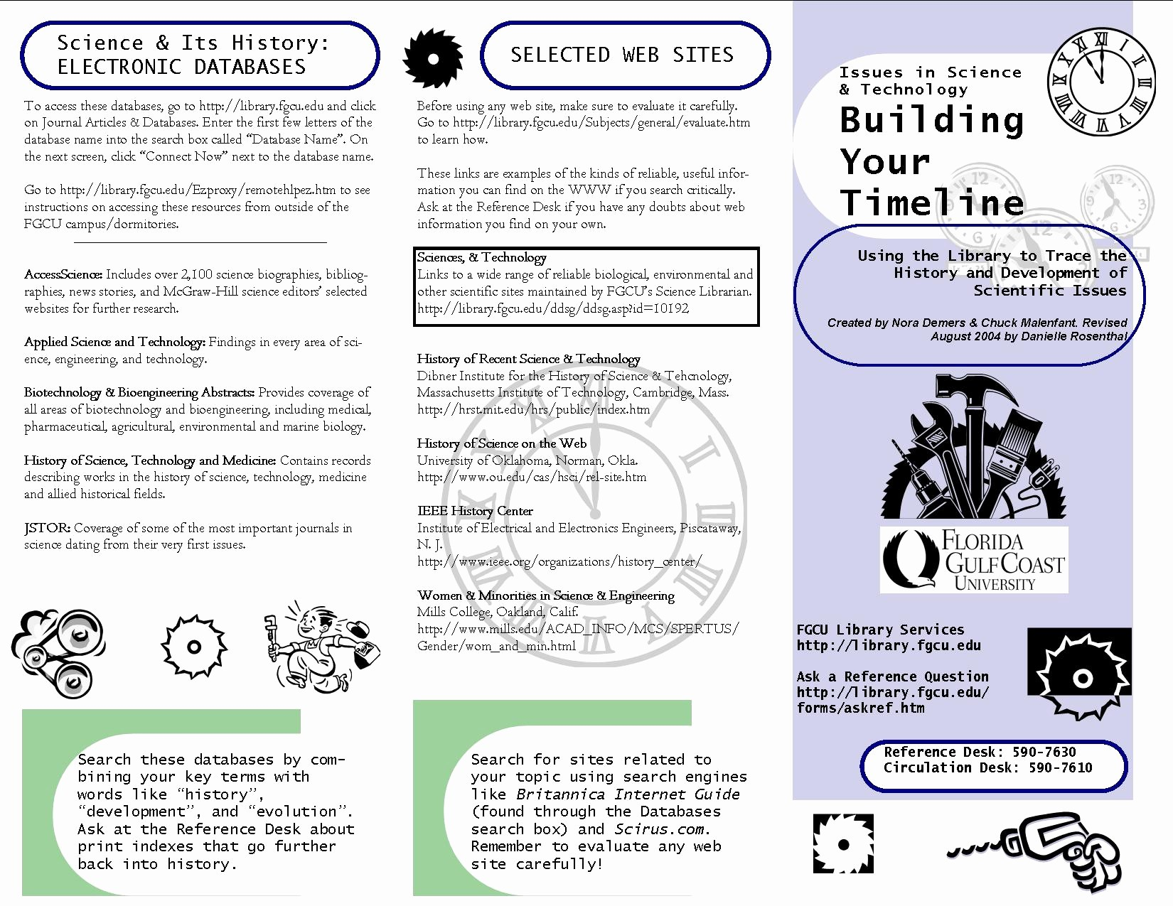 How to format A Brochure New assignments Independent Presentations
