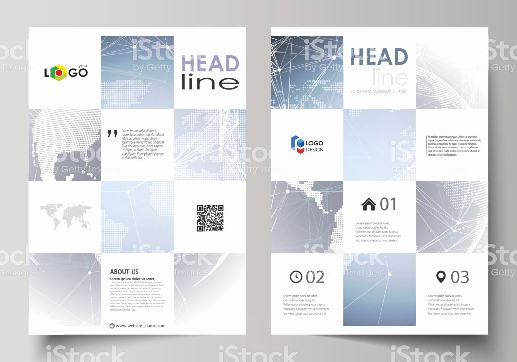 How to format A Brochure New the Vector Illustration the Editable Layout A4