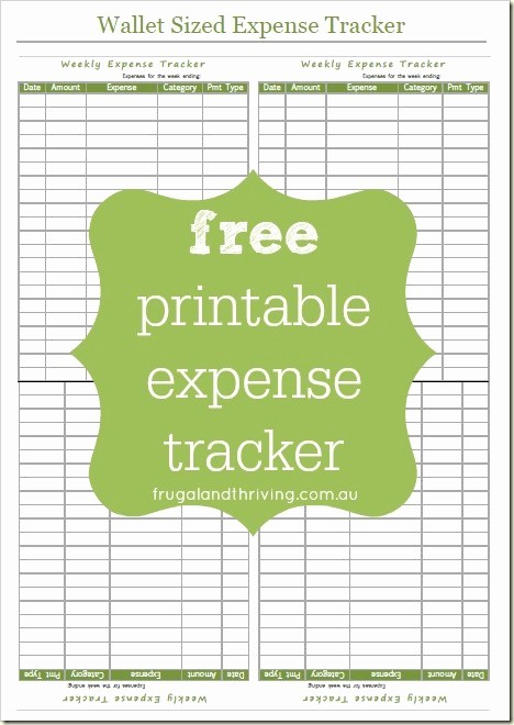 How to Log Business Expenses Luxury Free Printable Expense Tracker Take Control Of Your Spending