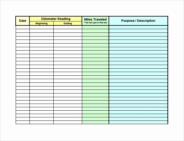 How to Log Business Expenses Unique 9 Expense Log Templates to Download